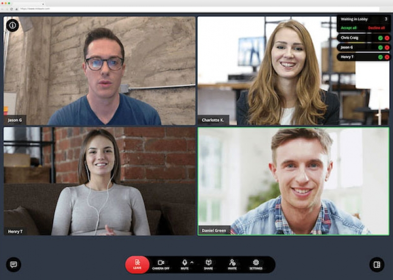 miteam meetings video conferencing solution