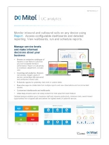 mitel UC Analytics Data Sheet